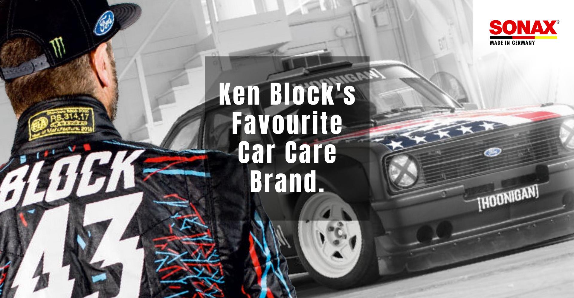 Ken Block's Favourite Car Care Brand